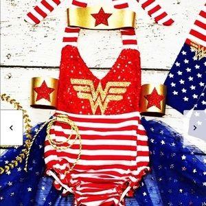 Adorable Wonder Woman costume